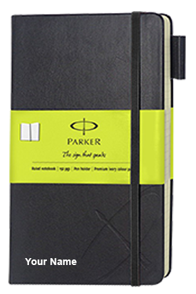Parker Std Small Notebook Green Sleeve-9000019828