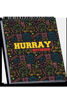 Personalised Effit Hurray Notebook