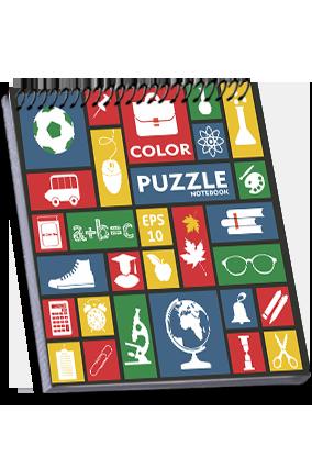 Amazing Effit Colour Puzzle Notebook