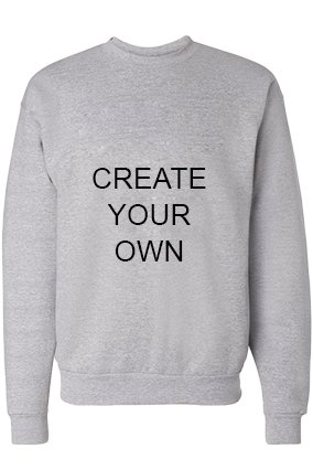 Create Your Own Gray Sweatshirt