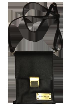 Black Colored Sling Bag - 841