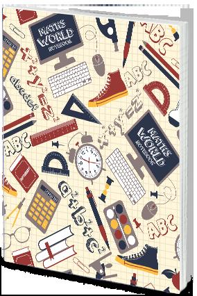 Effit Maths World Notebook