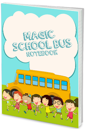 Effit Magic School Bus Notebook
