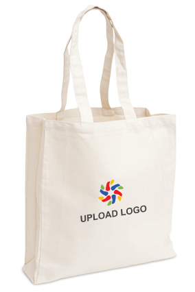 Upload Logo White Tote Bag