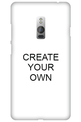 Personalized Create Your Own One Plus Two Mobile Cover