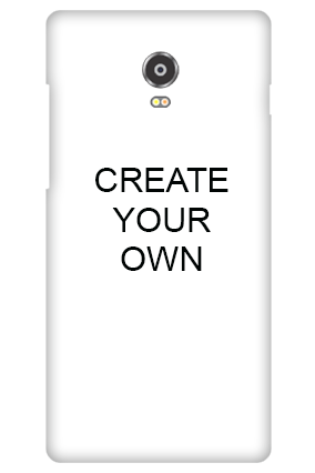 3D - Create Your Own Lenovo Vibe P1 Mobile Cover
