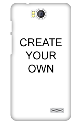 Transparent Silicon - Create Your Own Intex Aqua 4.5E Mobile Cover