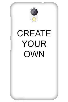 Transparent Silicon - Create Your Own HTC Desire 526G Plus Mobile Cover