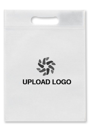 Upload Logo Non Woven D-Cut Utility Bag