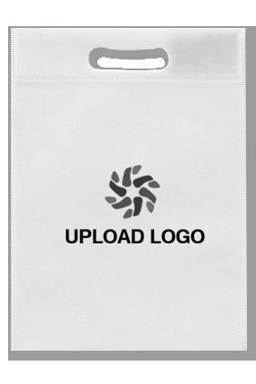 Upload Logo Non Woven D-Cut Utility Bag