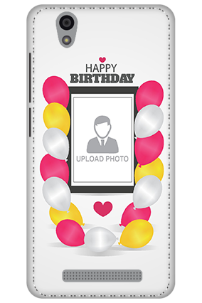 3D - Gionee F103 Birthday Greetings Mobile Cover