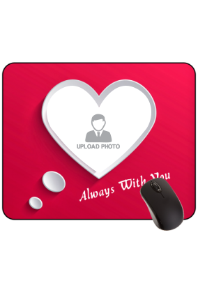 Pink Dreams Valentine Day Rectangular Mouse Pad