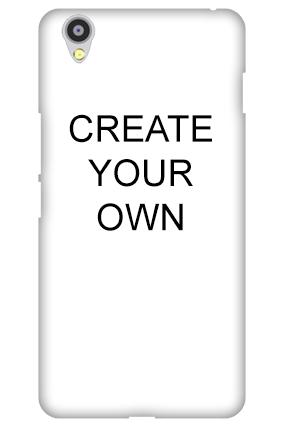 3D - Create Your Own Oneplus X Mobile Cover