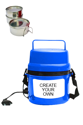 Create Your Own Electra Lunch Box H07 Blue