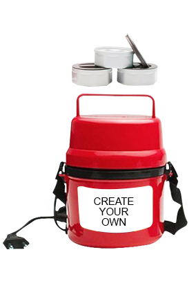 Create Your Own Electra Lunch Box  H06 Red