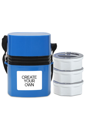 Create Your Own Megalunch 3 H35 Blue