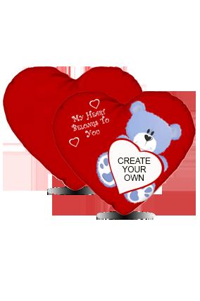 Create Your Own Teddy Bear Cushion Cover