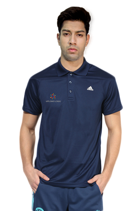 Adidas - Embroidery Polo Conavy Training T-Shirt - AH9111
