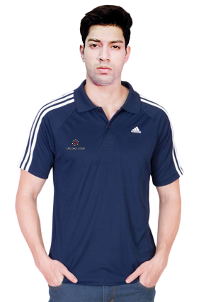Adidas - Embroidery Polo Conavy White T-Shirt - S20228