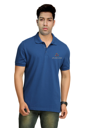 Printed Adidas - Embroidery Polo Reablu Training T-Shirt - BSO682