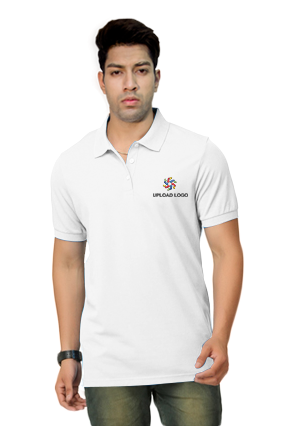 Umbro- Embroidery Polo White T-Shirt - 1000627400019