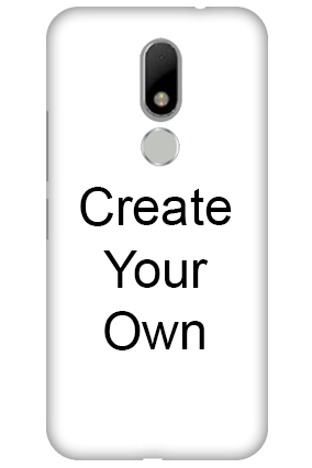 Silicon - Create Your Own Motorola Moto M Mobile Cover