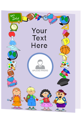 Personalized Kid Fun Folder
