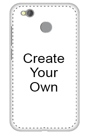 3D - Create Your Own Redmi 4 Mobile Cover