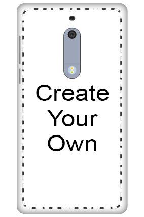 3D - Create Your Own Nokia 5 Mobile Cover
