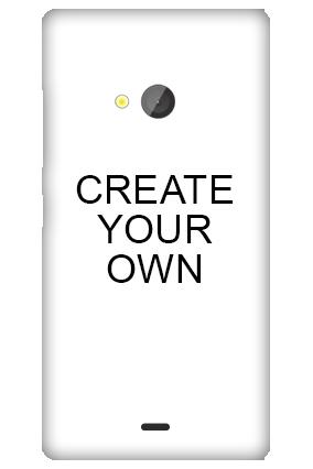 Silicon - Create Your Own Microsoft Lumia 540 Mobile Cover