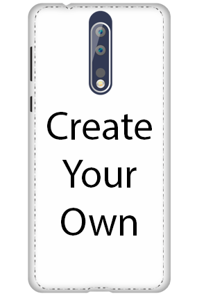 3D - Create Your Own Nokia 8 Mobile Cover