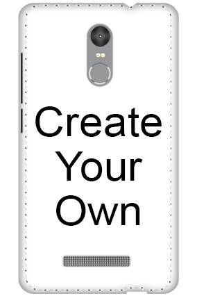 3D - Create Your Own Xiaomi Redmi Note 3 Mobile Cover