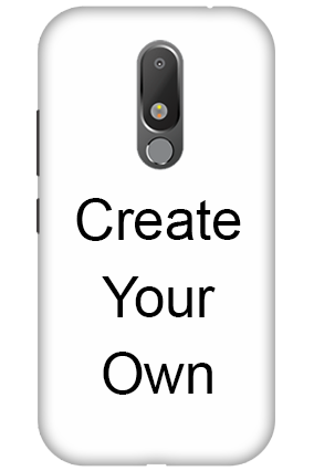 3D - Create Your Own Motorola Moto M Mobile Cover