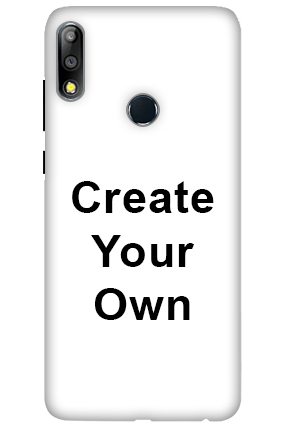 3D-Create Your Own Asus Zenfone Max Pro M2 Mobile Covers
