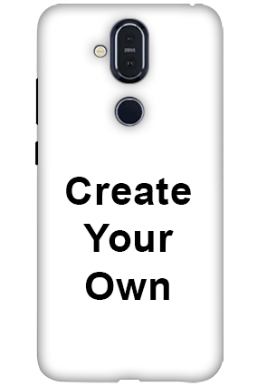 Nokia 8.1 - Create Your Own Mobile Covers
