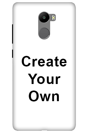 3D - Create Your Own Xiaomi Redmi 4 Prime Mobile Cover