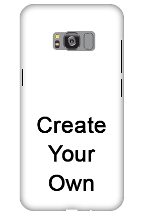 3D - Create Your Own Samsung Galaxy S8 Edge Mobile Cover
