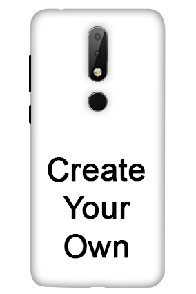 Nokia 6.1 Plus - Create Your Own Mobile Cover