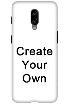 3D - Create Your Own Oneplus 6T Mobile Covers