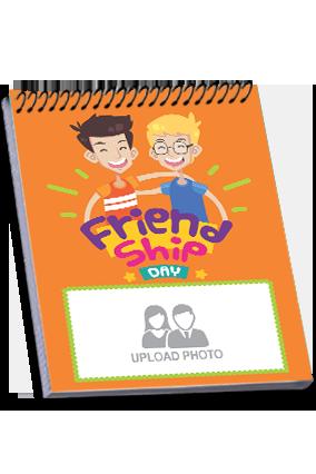 Designer Friend Forever Friendship Day Notebook