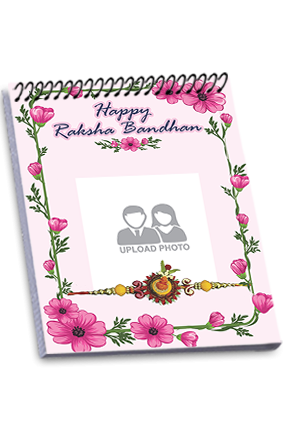 Happy Rakhi Occasion Top Spiral Note Book