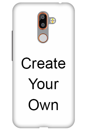 3D - Create Your Own Nokia 7 plus Mobile Cover