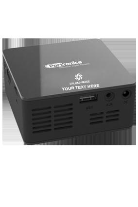 Portronics Progenie projector (POR-600, Black)