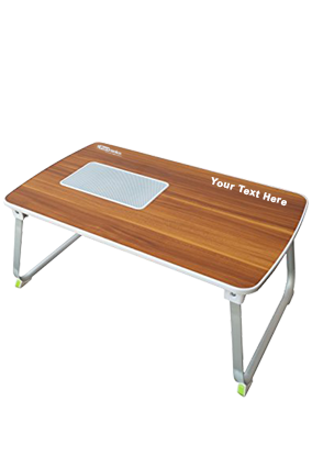 Portronics Mybuddy Laptop Table (Por-833, Brown)