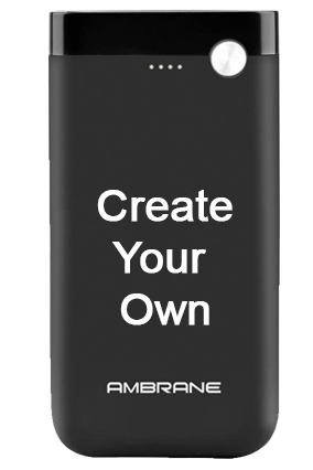 Design Your Own Ambrane Polymer PP-11 - 10000mAh Power Bank Black