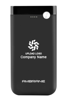 Ambrane Polymer Power Bank PP-11 10000mAh Black