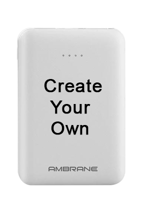 Ambrane Polymer Power Bank PP-501 5000mAh-White
