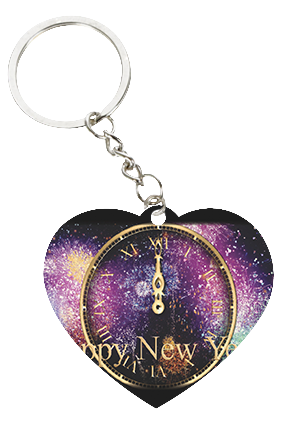 Personalized Attractive Round Key Chain