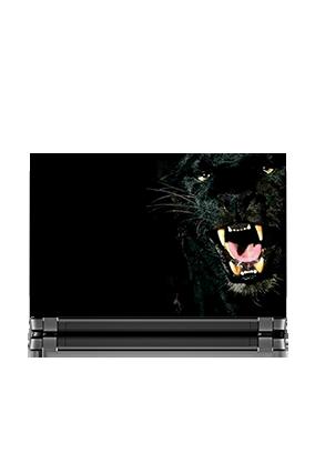 Black Leopard Laptop Skin