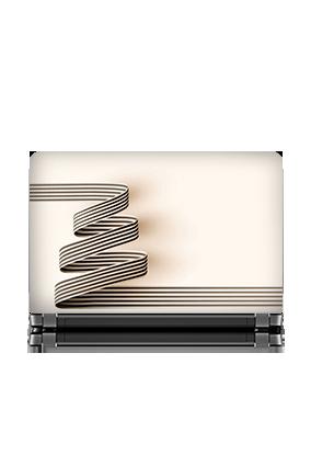 Custom Classy Creamy Laptop Skin